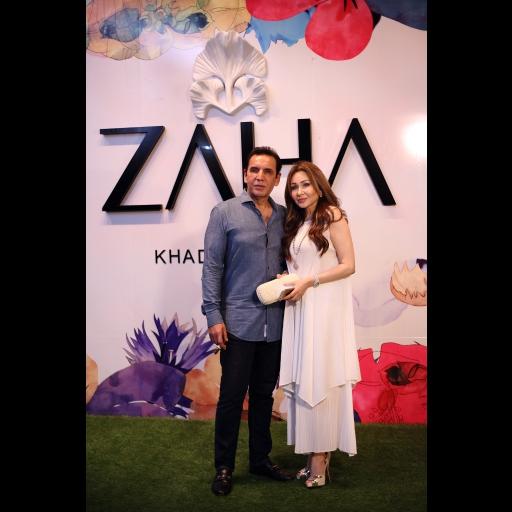 Asim Jalil and Jaria Asim