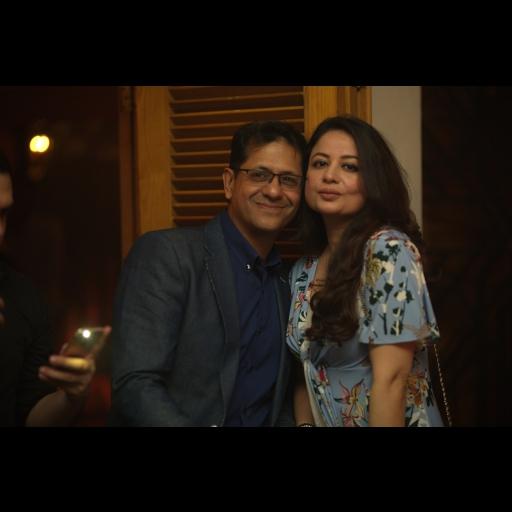 Shoaeb Shams and Anny Shoaeb