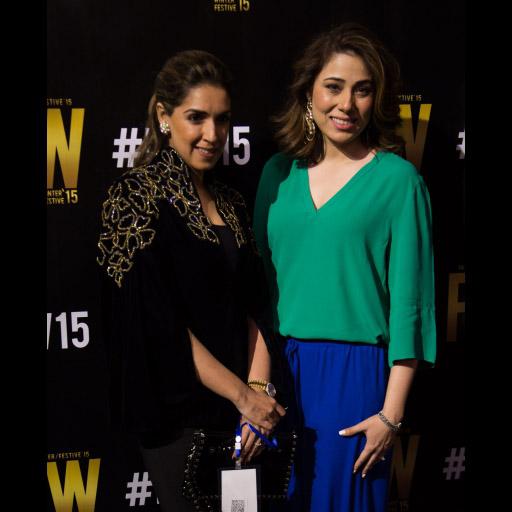 Maheen Karim and Sanam Chaudhri
