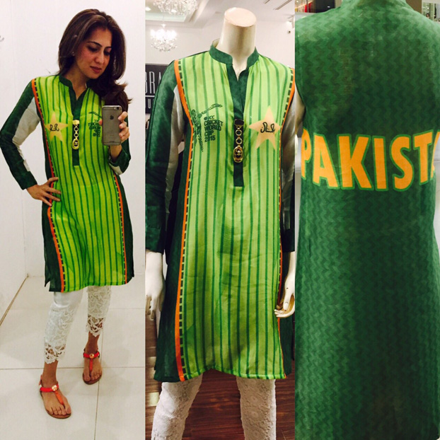 Brands Just Pret Official Cricket World Cup Kurtas!