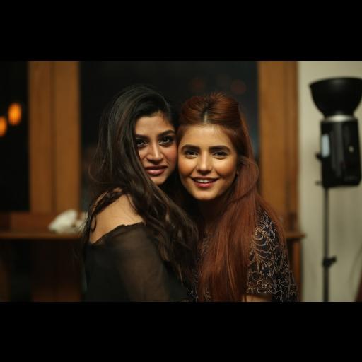 Zoya Nasir and Momina Mustehsan