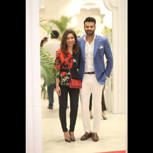 Natasha Saleem and Adnan Malik