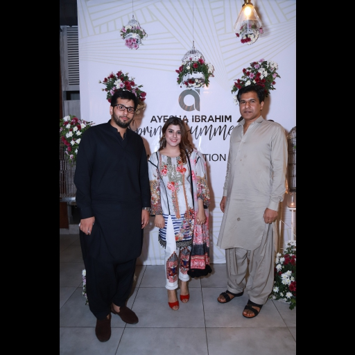 Safeer Saleem, Ayesha Ibrahi,