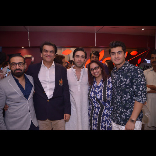 Nadeem Baig, Abdullah Kadwani, Ali Rehman Khan, Samra Muslim with a friend