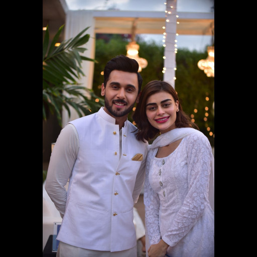 Abdullah Sultan and Sadaf Kanwal