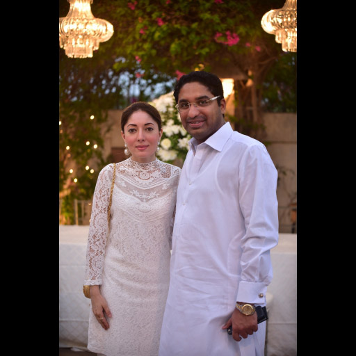 Sharmila Farooqui and Hasham Riaz Sheikh
