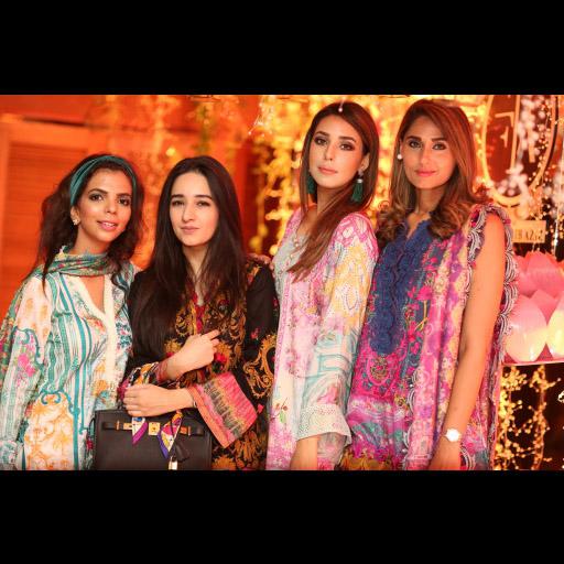 Shireen, Anum, Anum and Sidra
