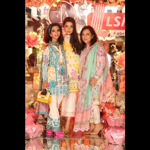 Shireen, Maliha and Farah