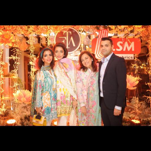 Shireen, Maliha, Farah and Raheel