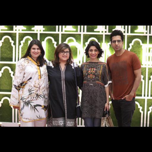 Selina, Shazya, Sara and Khalid Malik
