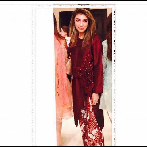 Aleena Masood in her Aleena Fareena