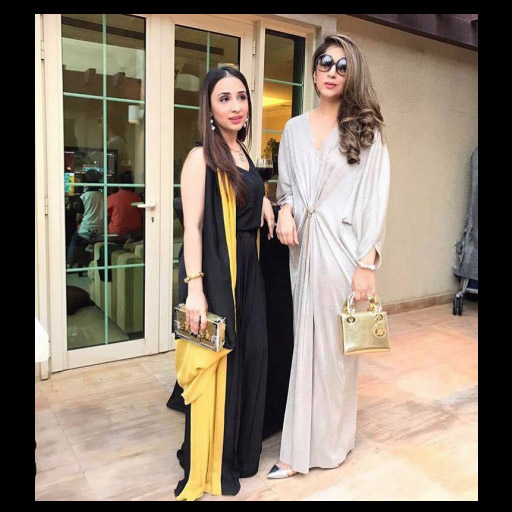 Wajiha Imran and Alina Rizvi in Umaima Mustafa
