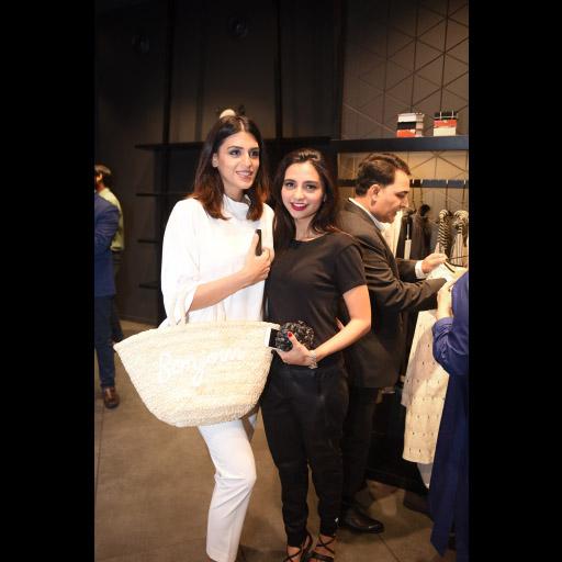 Anusheh Shahid and Yasmeen Hashmi