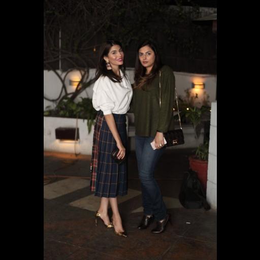 Amna Babar and Salima Amin Feerasta
