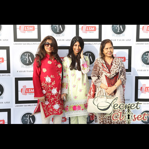 Sherezad Rahimtoola with her niece Anushee and Mom Mrs Hashwani