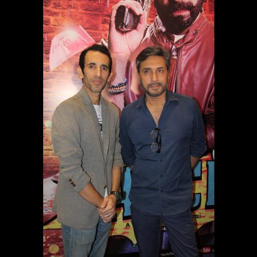 Shafqat Khan and Adnan Siddiqui