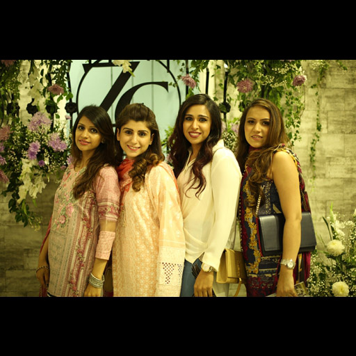 Yasmeen, Saba with friends