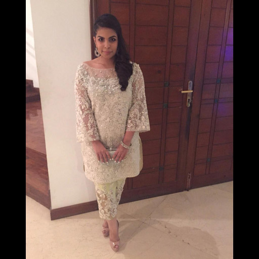 Lovely Anusha in a Rema and Shehrbano for Rema Luxe formal