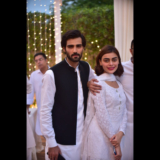 Hasnain Lehri and Sadaf Kanwal