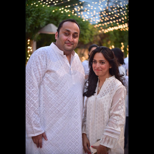 Mazhar Amir and Nida Azwer