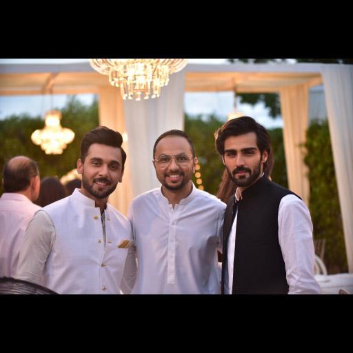 Abdullah Sultan, Nomi Ansari and Hasnain Lehri