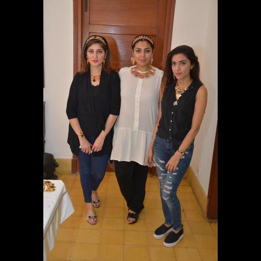 Meher Bano, Nitya and Sahar