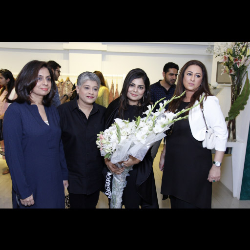 Laiqa, Zainab and guests