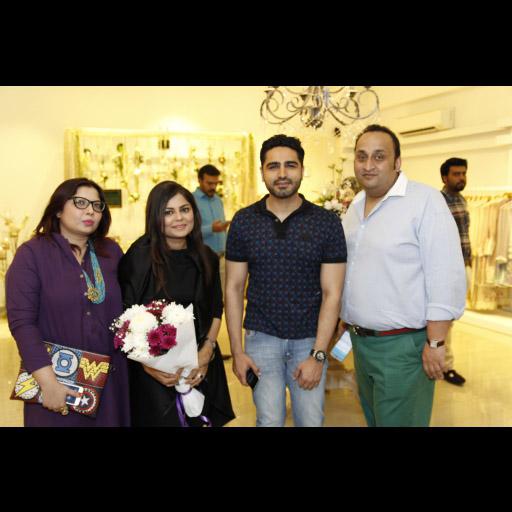 Maliha Rao, Zainab, Umair and Amir