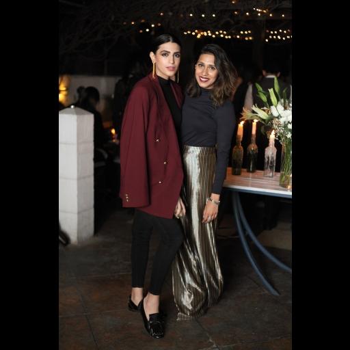 Anusheh Shahid and Momina Sibtain