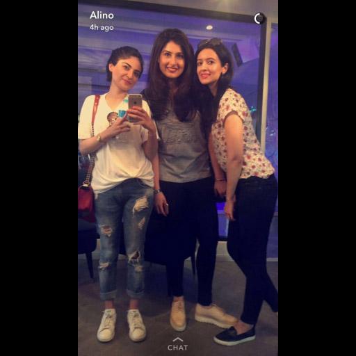 Alina, Hoor and Fatima