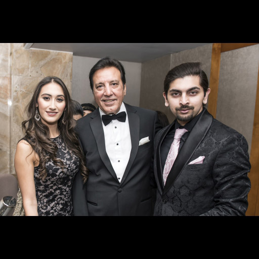 Rasheeda Ali, Javed Sheikh with guest