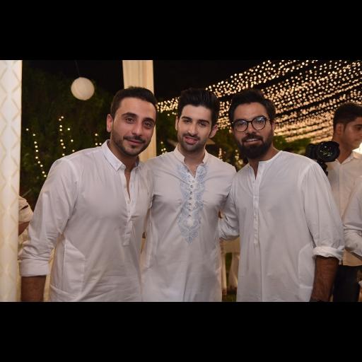Humayun Alamgir, Muneeb Butt and Yasir Hussain