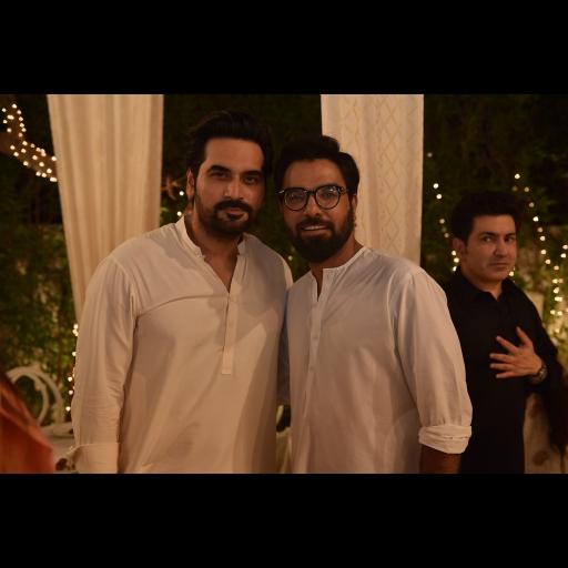 Humayun Saeed and Yasir Hussain