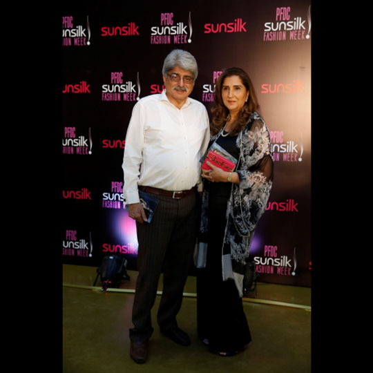 Salman Shah and Aneela Shah