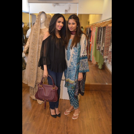 Maha Burney and Faiza Lakhani
