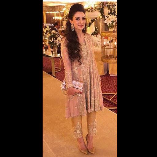 Pretty Emaania in Shehla Formal Wear