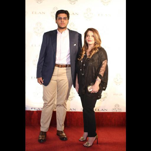 Asad and Faiza Khurram