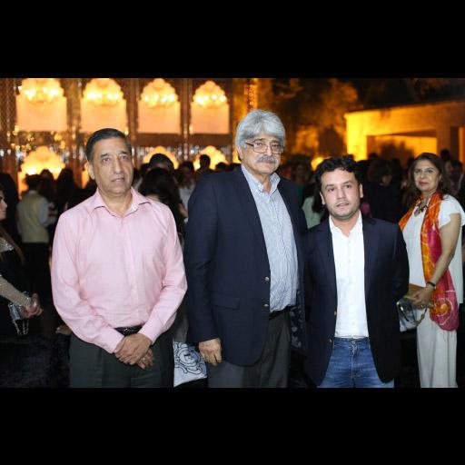 Ashiq Qureshi, Dr. Salman Shah and Raziuddin Ahmed