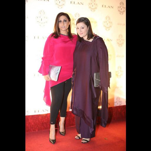 Asma Chishty and Zahra Hidayatullah