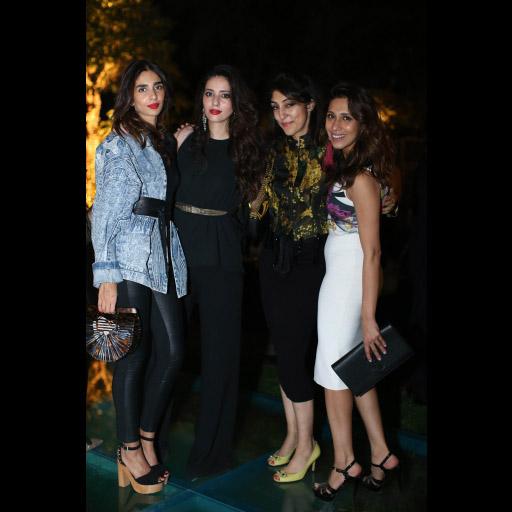 Ayesha, Deena, Attiya and Momina