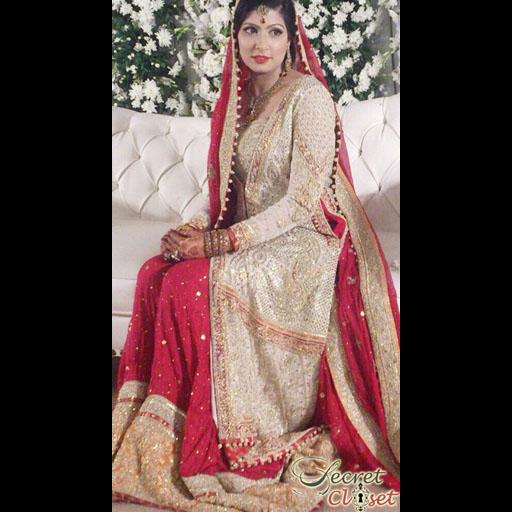 Itrat a Shehla Chatoor bride
