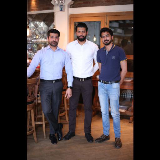 Asad Malik, Taimoor Arshad and Jawwad Gillani
