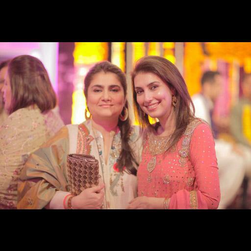 Saira Shah (right)