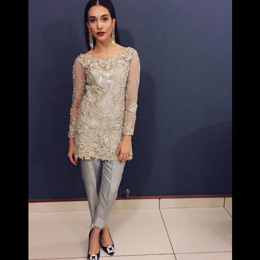 Sana Ansari sparkling in Aurora by Rema and Shehrbano