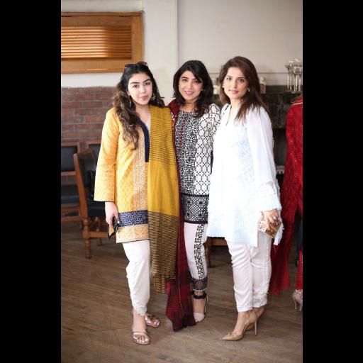 Jza Malik, Sadaf Zarrar and Nafisa Khalid