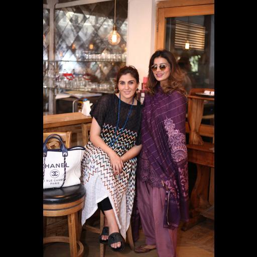 Khadijah Shah and Rabia Butt