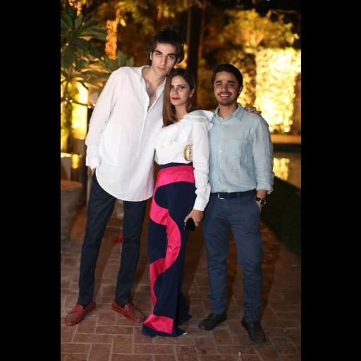 Dawood Akbar, Natasia Khalid and Azeem Paul