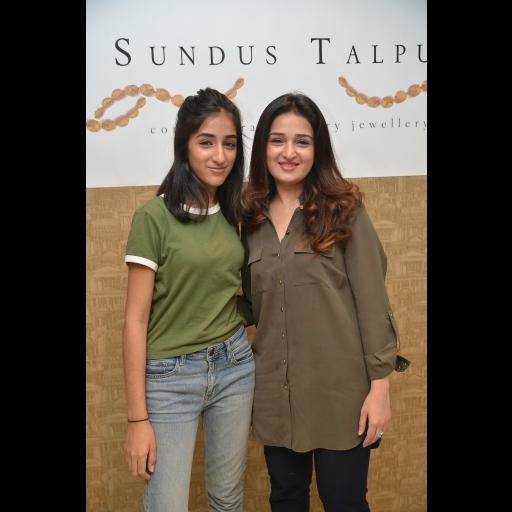 Safa and Sana Talpur