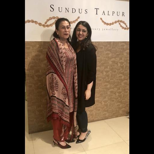 Sanam Bhutto and Sundus