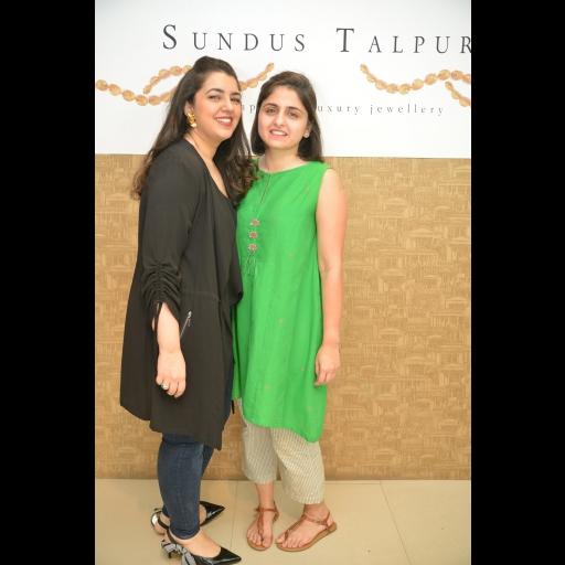 Sundus Talpur and Priya